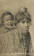 Nouvelle Zélande - How A Maori Carries Her Picaninny - Comment Un Maori Porte Son Enfant Arborigène - New Zealand