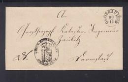 Falthülle Gross Gerau 1859 - Thurn Und Taxis