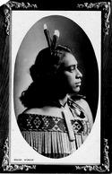 Nouvelle Zélande - Maori Woman - Femme Maori - Nouvelle-Zélande