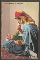 Carte P ( Egypte / Bédouine Et Son Enfant ) - Personnes