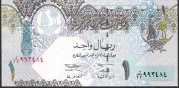 QATAR  P20  1  RIYAL  2003   UNC. - Qatar