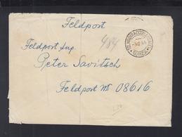 Italien Feldpost Brief 1944 Gorizia An 08616 - Deutschland
