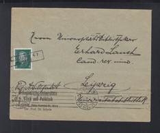 Dt. Reich Brief Leipzig 1931 Kastenstempel - Deutschland