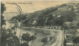 Nouvelle Zélande - Wellingtown  - Oriental Bay - Nouvelle-Zélande