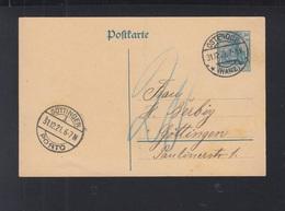 Dt. Reich GSK 1921 Osterode Nach Göttingen Porto - Deutschland