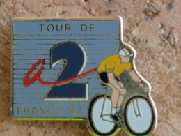 PIN'S TOURS DE FRANCE 92 - Cyclisme