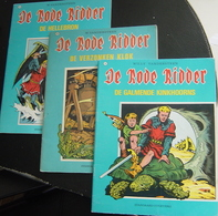 DE RODE RIDDER Stripboeken 3 Verschillende Delen : 14-38-75 Zie Scans ! - De Rode Ridder
