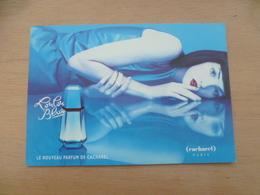 PUBLICITE  PARFUM  LOULOU BLUE - Advertising