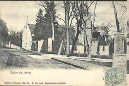 Eglise De Juvisy Cpa 1903 - Demonstrations