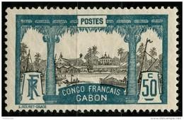 Gabon (1910) N 44 * (charniere) - Gabon (1886-1936)