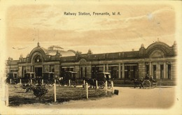 Australie  - Fremantle Railway Station - Fremantle - La Gare - Australia