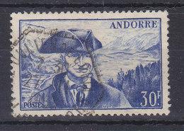 MICHEL 138 OBL - COTE 24 EURO - Andorre Français