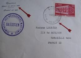 A158 - ✉️ PAQUEBOT CALEDONIEN - CàD : SANTO (Nelles HEBRIDES) 10 DECEMBRE 1969 - COURRIER DEPOSE EN PLEINE MER - Nouvelles-Hébrides