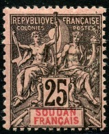 Soudan (1894) N 10 * (charniere) - Soudan (1894-1902)