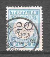 Netherlands 1894 NVPH Port P25 Canceled (1) - Tasse