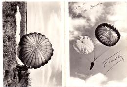 Kalender Calendrier - 1958 - Parachutisme - Parachute - Calendars