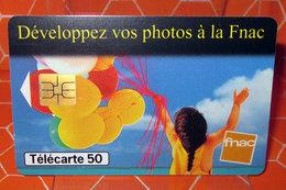 TELECARTE 50 DEVELOPPEZ VOS PHOTOS A LA FNAC - France