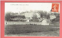 SAINT JUST SUR LOIRE 1913 CHATEAU DE LA MERLEE CARTE EN TRES BON ETAT - Saint Just Saint Rambert