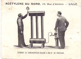 Foto Photo - Machine - Surchauffeur - Acétylene Du Nord - Lille - Objects