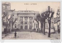 79) Niort.-  Le Théâtre  - ( Animée Commerce Peinture Papier Peint) - Niort