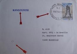 "A164 - ✉️ PAQUEBOT "" KANGOUROU "" - CàD : PACKET BOAT WELLINGTON AVRIL 1979 - COURRIER POSTE EN PLEINE MER - New Zealand"