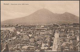 Panorama Preso Dalle Mura, Pompei, C.1910 - Brunner Cartolina - Pompei