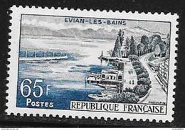 N° 1131   FRANCE  - NEUF  -  EVIAN LES BAINS  -  1957 - Francia