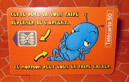 TELECARTE 50 MORPION - France