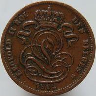 Belgium 1 Centimes 1902 VF - 1865-1909: Leopold II