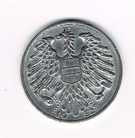 =&  OOSTENRIJK  1 SHILLING 1952 - Autriche