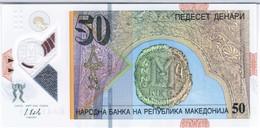 Macedonia - Pick New - 50 Denari 2018 - Unc - Macédoine