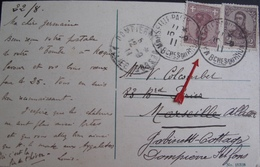 A173 - CPA De BUENOS AIRES (ARGENTINE) - CàD : MARSEILLE PAQUEBOT 10 SEPTEMBRE 1911 - COURRIER POSTE EN PLEINE MER - Argentine
