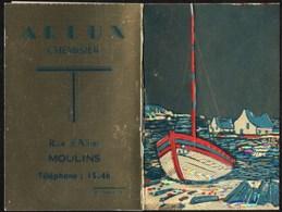 Calendriers > Petit Format : 1961-70 Moulins Chemisier ARLUX Rue D Allier - Calendars