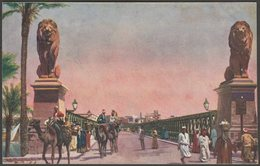 "Die ""Kasr-En-Nil"" Brücke, Cairo, C.1905-10 - Serie Aegypten AK - Cairo"