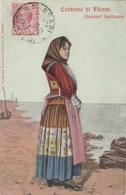 ILLORAI-SASSARI-COSTUME TRADIZIONALE-CARTOLINA ANNO 1900-1904-OBLITERATA 9-1-1923 - Sassari