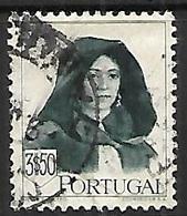 Portugal  1947  Sc#682   3$50  High Value Used   2016 Scott Value $7.50 - 1910-... Republic