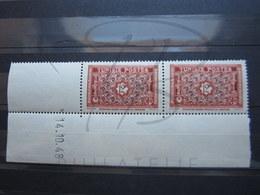 VEND BEAUX TIMBRES DE TUNISIE N° 318 EN PAIRE + 2 BDF , CD , XX !!! - Tunisie (1888-1955)