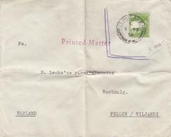 GOOD PALESTINE Postal Cover To ESTONIA 1935 - Good Stamped - Palestine