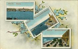 Malte - Carte Multivues  (voir Scan) - Rare - Malta