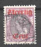 Netherlands 1919 NVPH 102 Canceled - 1891-1948 (Wilhelmine)