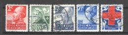 Netherlands 1927 NVPH 203-207 Canceled (6) - 1891-1948 (Wilhelmine)