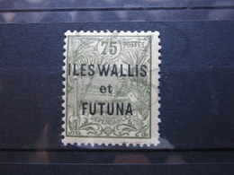 VEND BEAU TIMBRE DE WALLIS ET FUTUNA N° 14 , XX !!! (b) - Wallis-Et-Futuna