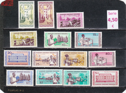Zanzibar  -  Serie Completa Nueva**   -  9/8016 - Zanzibar (1963-1968)