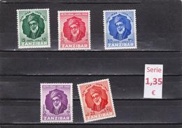 Zanzibar  -  Serie Completa Nueva**   -  9/8018 - Zanzibar (1963-1968)