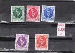 Zanzibar  -  Serie Completa Nueva**   -  9/8019 - Zanzibar (1963-1968)