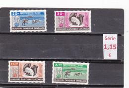 Zanzibar  -  Serie Completa Nueva**   -  9/8020 - Zanzibar (1963-1968)
