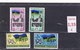 Zanzibar  -  Serie Completa Nueva**   -  9/8022 - Zanzibar (1963-1968)
