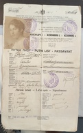 PASSEPORT PASSPORT  REISEPASS  1926.  Kindom Of Serbia , Croatia And Slovenia - Historische Dokumente