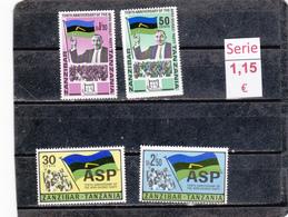 Zanzibar  -  Serie Completa Nueva**   -  9/8023 - Zanzibar (1963-1968)