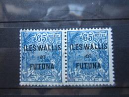 VEND BEAUX TIMBRES DE WALLIS ET FUTUNA N° 41 EN PAIRE , XX !!! - Wallis-Et-Futuna